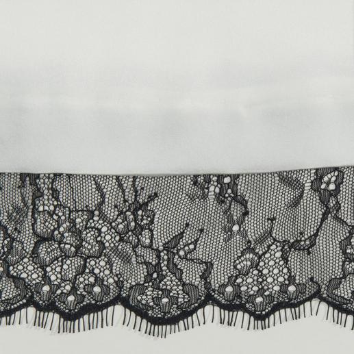 Schwarz-Weiß-Top