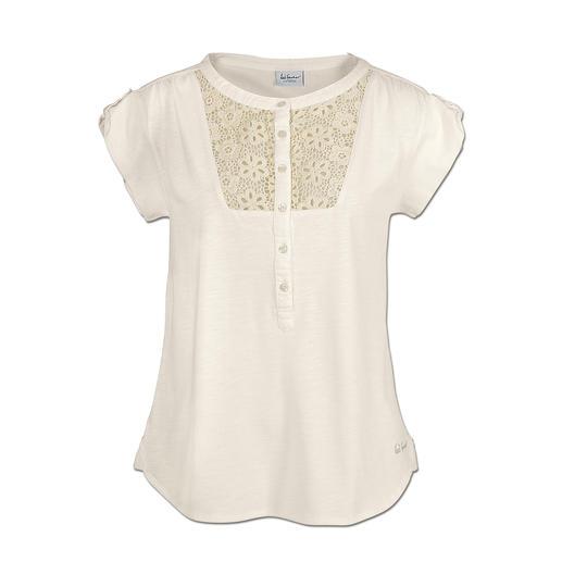 Luis Trenker Trachten-Shirt - Best Basic: Das Trachten-Shirt mit Blusen-Charakter.