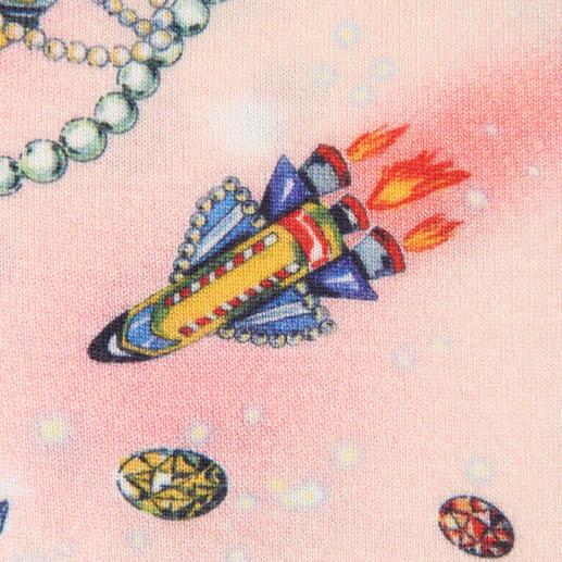 Love Moschino Cord-Schlaghose, Space-Pulli oder Gabardine-Kastenjacke Etwas schräg. Ein wenig schrill. Und in der Love Moschino-Welt perfekt.