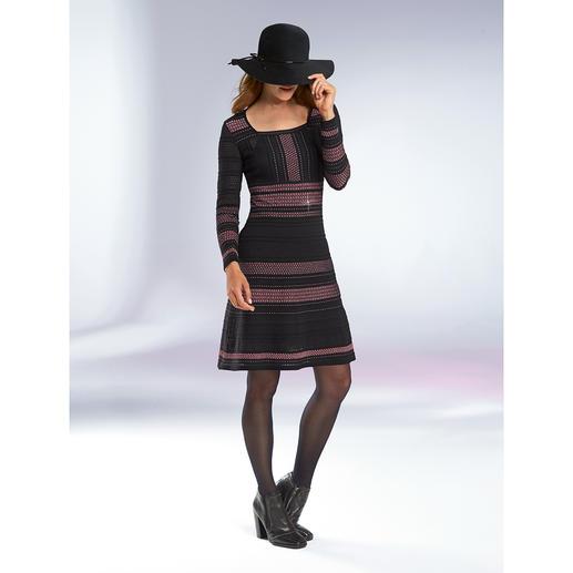 M Missoni Multi-Trend-Kleid - Folklore, Streifen, Meshgewebe, Rosé-Ton, Lurex-Glanz: 5 Trends, meisterhaft umgesetzt in Strick.