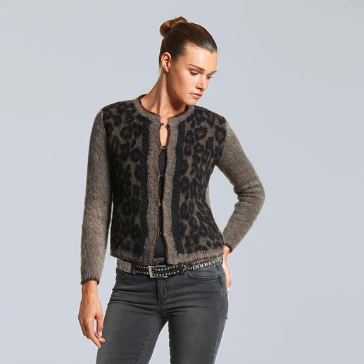 Liu Jo Couture-Strickjacke - Die neue Generation Couture-Jacke: Leo. Lurex. Flausch. Italienisch frech, von Liu Jo.