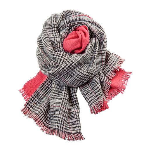 TWINSET Doubleface-Schal, Paprika - Fashion-Update für Ihre Jacken und Mäntel: Der Doubleface-Schal von Twinset.