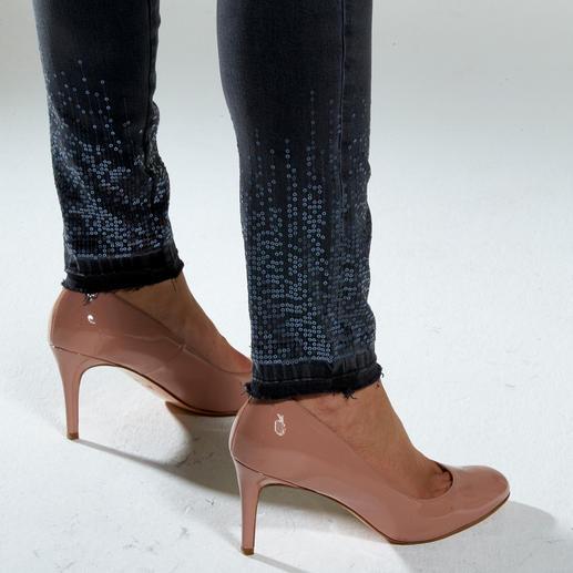 """Liu Jo Jeans Bottom up Paillette Kaum eine Skinny-Jeans lässt Ihren Po knackiger aussehen als die """"Bottom up"""" von Liu Jo Jeans, Italien."""