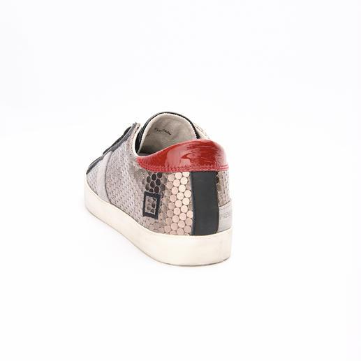 D.A.T.E. Metallic-Sneaker Chart-Stürmer des Sportschuh-Trends: Die Ledermix-Sneakers vom In-Label D.A.T.E.