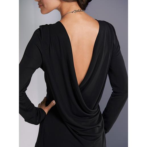 Strenesse Rückenausschnitt-Shirt oder Maxi-Rock Hochmodische Designer-Kombi – und doch zu beinahe jeder Gelegenheit perfekt gekleidet. Von Strenesse.