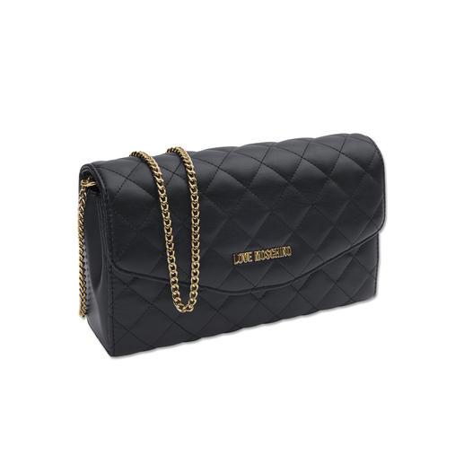 Love Moschino Chain Bag, Schwarz Jetzt Trend, bei Love Moschino ein Klassiker: Die Kettenhenkel-Tasche.