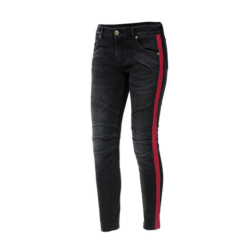 Pierre Balmain Military Skinny-Pants Top-Trend und genau der Stil von Balmain: Skinny Pants im Military-Stil.