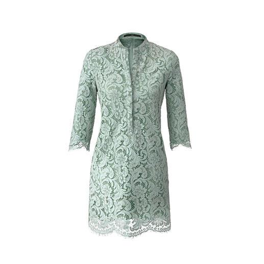 SLY010 Spitzenkleid Top-Thema Hemdblusenkleid: Selten couturig statt gewohnt sportlich.
