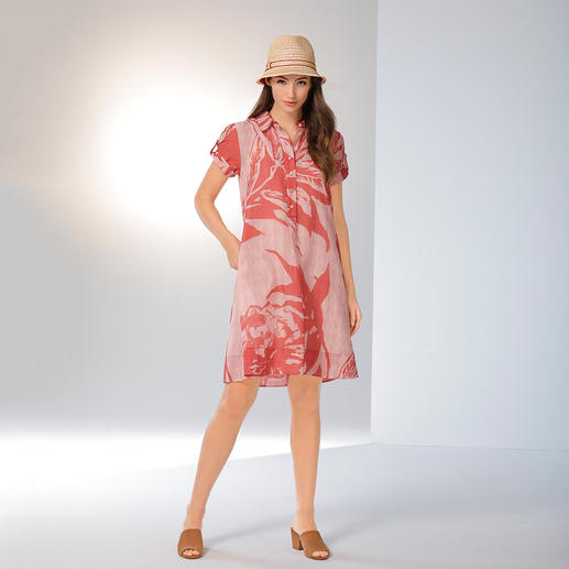 Strenesse Hemdblusenkleid Trendfarben, Mustermix, Hemdblusenkleid: Selten so elegant wie bei Strenesse.