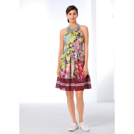 """Blugirl Rosenkönigin-Kleid Keiner trifft den romantisch verspielten Feen-Look so gut wie Blugirl-Designerin und """"Rosenkönigin"""" Anna Molinari."""