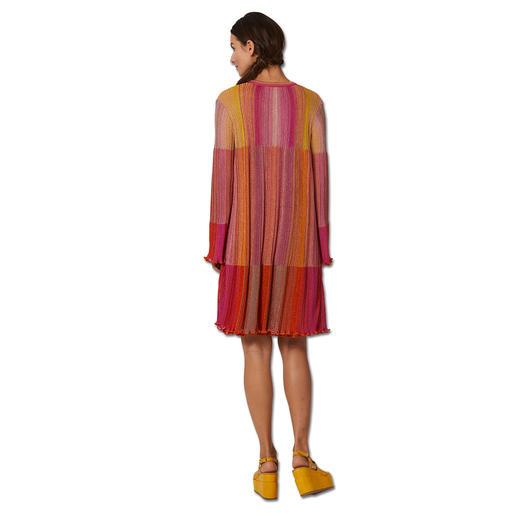 MMissoni Plissee-Long-Cardigan oder Plissee-Strickkleid Plissee-Strick von M Missoni: Angesagte Falten außergewöhnlich schlank.