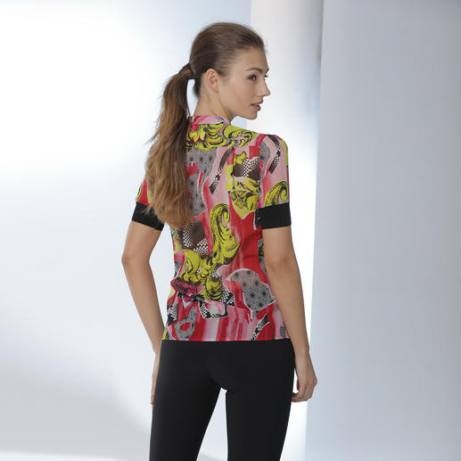 Versace Collection Schluppenbluse Klassiker Schluppenbluse – neu interpretiert von Versace Collection.