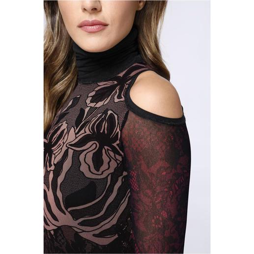Fuzzi Cold-Shoulder-Kleid Das Designerkleid für die Handtasche. Und für fast jeden Anlass.