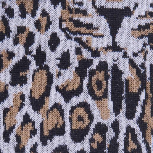 Pinko Leo-Pullover Leo-Muster + Raubtier-Kopf: Doppelt trendy und doch nicht too much.