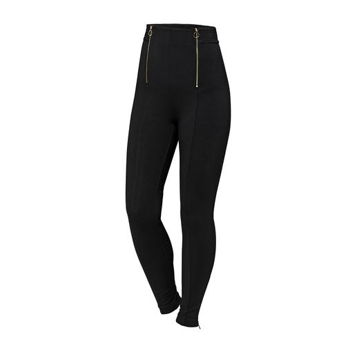 Pinko Highwaist-Leggings Im Fashion Focus: Hohe Taille. Von Pinko kommt die perfekte Leggings – selten edel und elegant dank Punto Milano-Jersey.