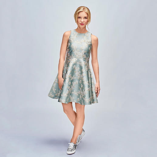 SLY010 Swing-Dress - Mode-Must-have Swinging-Sixties-Kleid: bei SLY010 perfekt getroffen in Farbe, Dessin und Material.