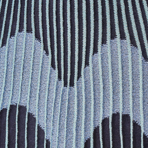 M Missoni Plissee-Strickkleid Plissee-Strick von M Missoni: angesagte Falten außergewöhnlich schlank.