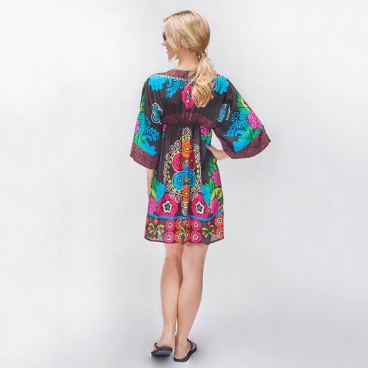 Rubyyaya Flower-Power-Kleid Summer-Love Hippie-Ethno-Kleid – vom derzeit wohl angesagtesten Label des Looks: Rubyyaya.