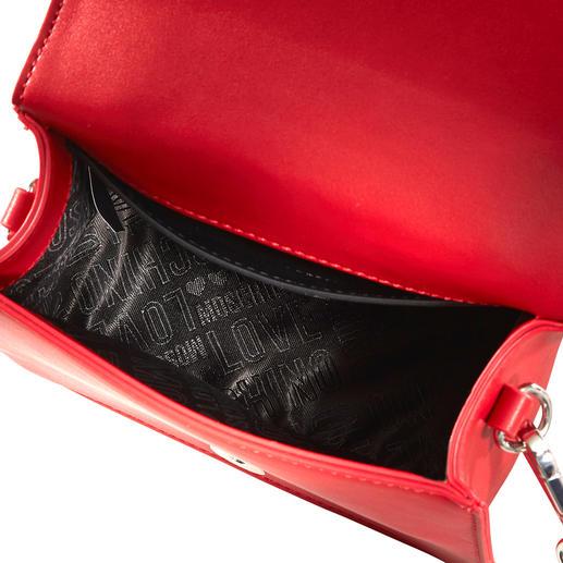 Love Moschino Mini-Bag Hochwertig handbestickt von einem der wohl coolsten Labels – und doch nur 179,- Euro: die Mini-Bag von Love Moschino.