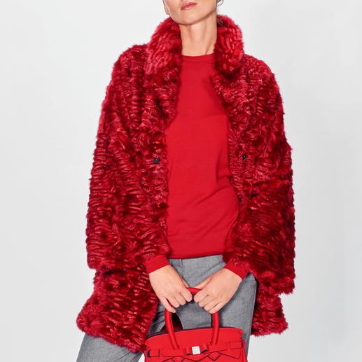 Ainea Fake-Fur-Persianerjacke Presse- und Blogger-Liebling: Fake Fur vom jungen italienischen Label Ainea.