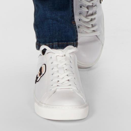 """Lagerfeld Sneaker """"Karl"""" - Anhaltendes Erfolgsmodell: der weiße Sneaker. Dieser ist ein unverkennbares Original von Karl Lagerfeld."""