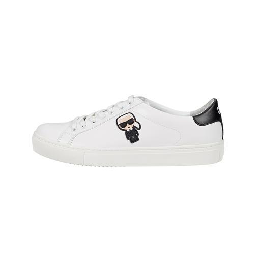 """Lagerfeld Sneaker """"Karl"""" Anhaltendes Erfolgsmodell: der weiße Sneaker. Dieser ist ein unverkennbares Original von Karl Lagerfeld."""