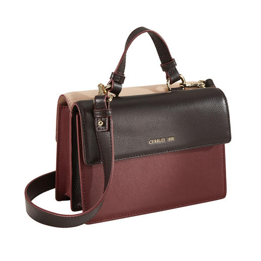 Cerruti 1881 Colorblock-Bag Accessoire-Trend Colourblocking: bei Cerruti 1881 als geniale Wende-Tasche.