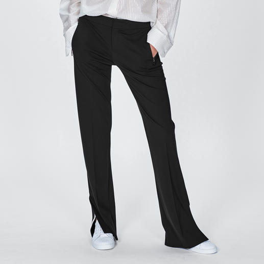 Strenesse Flared-Pants Sporty-Chic + Herrenstil: Die perfekte Flared-Pants im Mode-Sommer 2019 kommt von Strenesse.