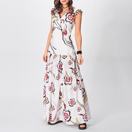 cavalli CLASS Maxi-Sporty-Dress Trendgerechtes Masterpiece vom Meister des Animal-Prints: das Maxi-Sporty-Dress von cavalli CLASS.