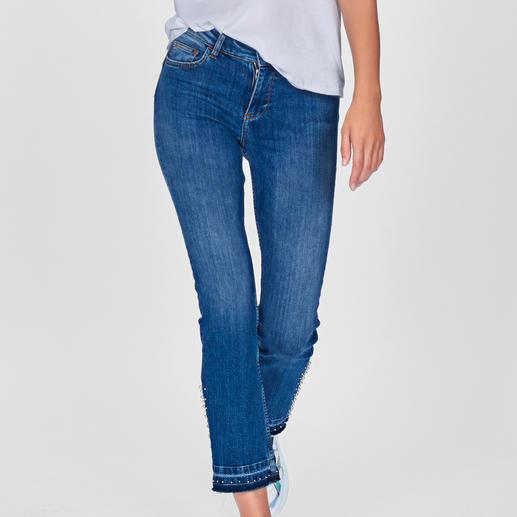 """Kaum eine Skinny-Jeans lässt Ihren Po knackiger aussehen als die """"Bottom up"""" von Liu Jo Jeans, Italien."""