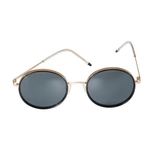 Joop! Sonnenbrille Round-Design - Trend-Trio 2019: Runde Retro-Form. Breite Gold-Fassung. Moderne Ultraleicht-Bügel. Von JOOP!.