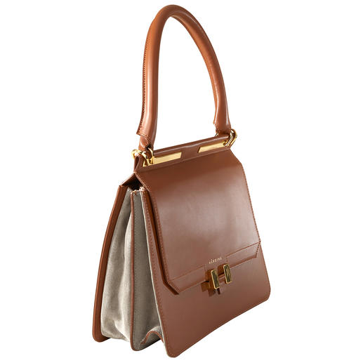 Tablet-Bag, Cognac