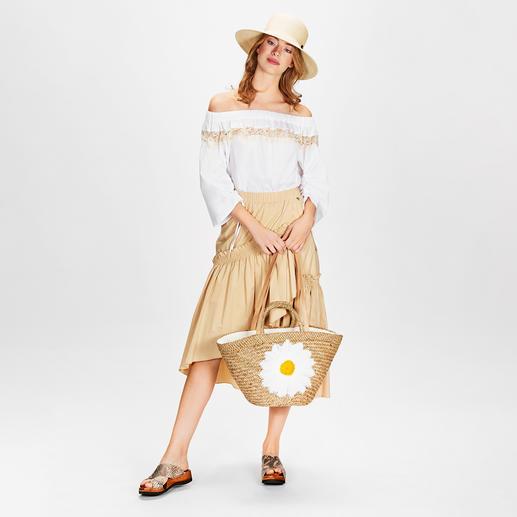 MY TWIN TWINSET Safari-Bluse oder -Rock Angesagter Safari-Look à la TWINSET: romantisch & feminin mit Rüschen, Volants und Spitze.