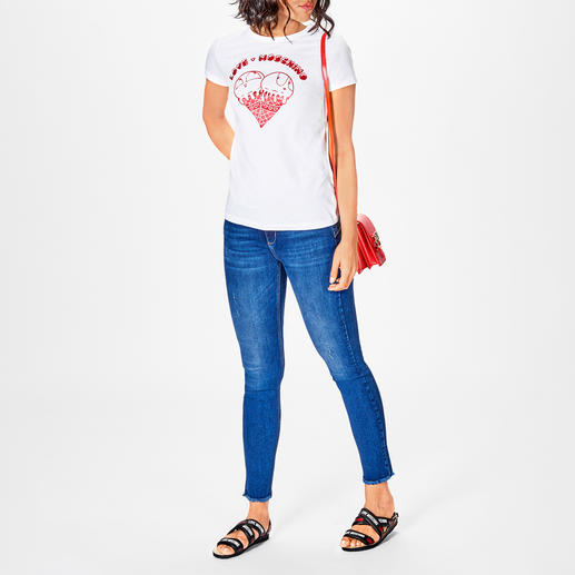 Love Moschino ice-cream-Shirt Sammlerstück mit Kult-Charakter: Neues aus der Love Moschino Shirt-Kollektion.