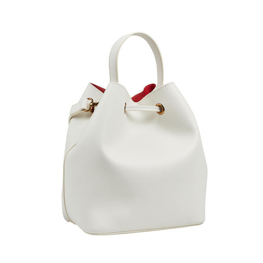 Love Moschino White Bucket-Bag