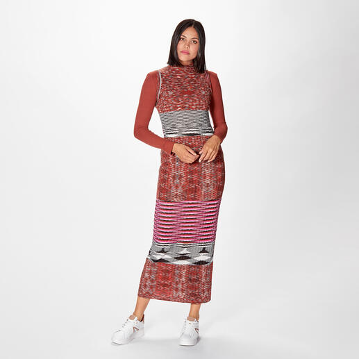M Missoni Sporty-Maxikleid