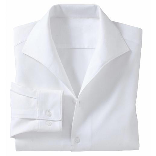 Schillerkragen-Hemd - Schick und korrekt – ganz ohne Krawatte. Das Hemd mit klassischem Schiller-Kragen.