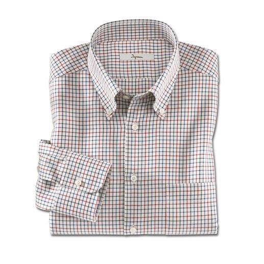"""Ingram-Flanell-Hemd """"Albini"""" Weich und wärmend wie Flanell – aber viel leichter und kombinierfreudiger."""