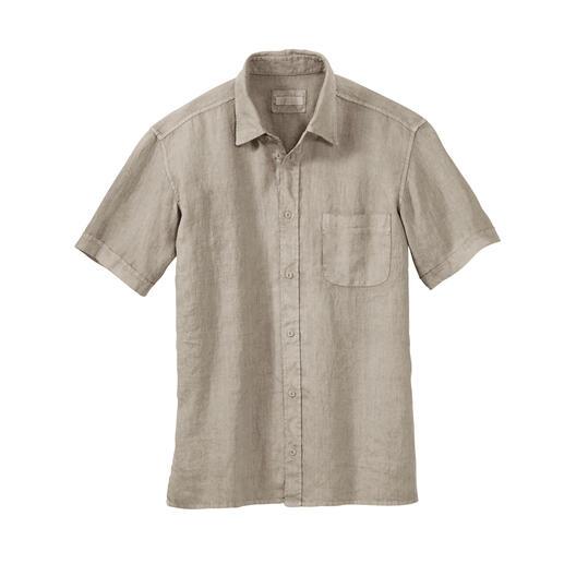 Dorani Vintage-Leinenhemd Das Leinen-Hemd im aktuellen Vintage-Look. Und mit dem vergessenen Tragekomfort von einst.