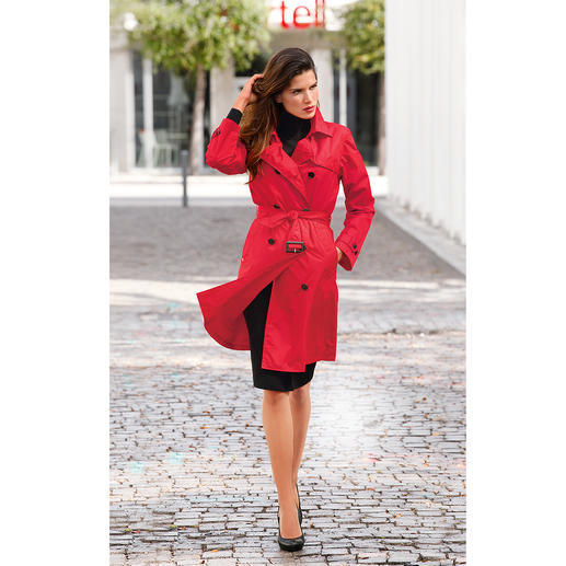 Knirps® Regen-Trenchcoat, Damen Selten ist praktischer Nutzen so schick: der Trenchcoat vom Wetterschutz-Spezialisten Knirps®.