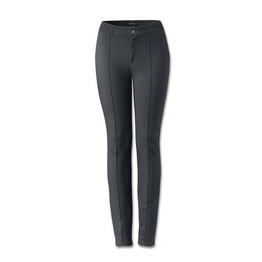 Cotton-Line Edel-Leggings Bequem wie Leggings. Konfektioniert wie eine feine Tuch-Hose. Die Edel-Leggings von Cotton-Line.
