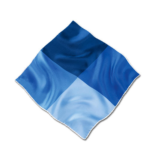 Ascot Seidentwill-Einstecktuch Das handrollierte Einstecktuch aus feinem Seidentwill: Geschmeidig und standfest. Besonders farbbrillant.