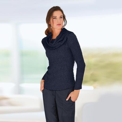 Carmenshirt, Nachtblau