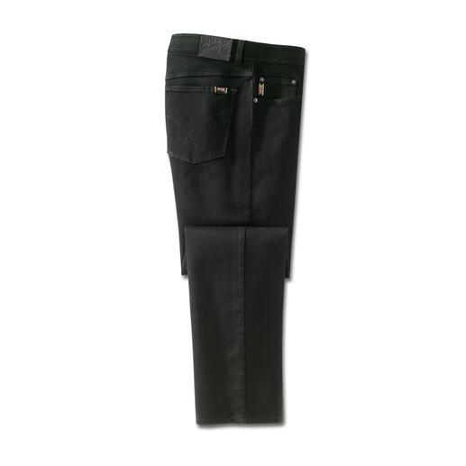 Brax Perma-Black-Jeans Endlich eine wirklich farbbeständige Jeans. Wäsche für Wäsche. Von Hosen-Spezialist Brax, seit 1888.