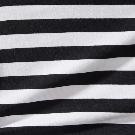 Zauber-Wickelshirt Das Zauber-Shirt. Nur richtig in Schwarz/Weiß.