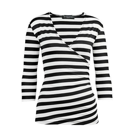 Das Zauber-Shirt. Das Zauber-Shirt. Nur richtig in Schwarz/Weiß.