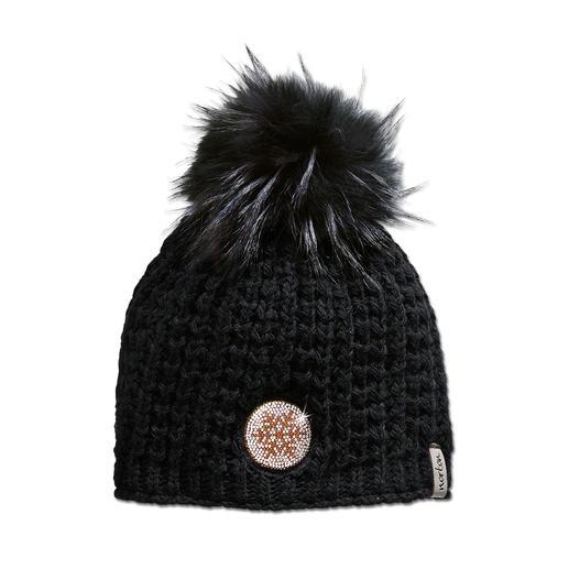 Schwarz, Mütze