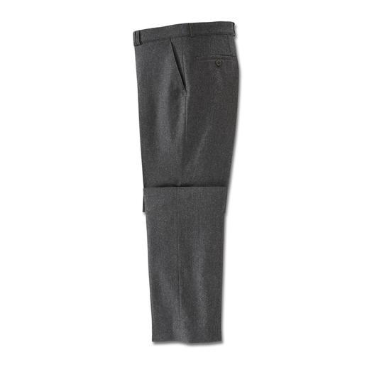 Donegal-Tweed-Hose Feiner und stilvoller als die meisten Tweed-Hosen. Und sogar maschinenwaschbar.
