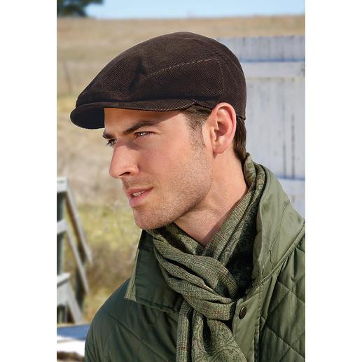 """Mayser Herren-Roadster-Kappe """"weatherproof"""" Es gibt sie doch: elegante Hut-Klassiker mit dem Wetterschutz von heute. Von Mayser."""