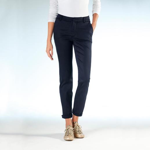 Cotton-Line Tencel®-Chino Die Cotton-Line-Chino: Perfekte Passform. Seidig weiche Tencel®/Baumwoll-Mischung.